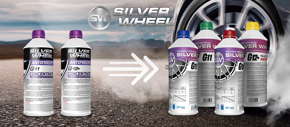 New Design Silver Wheel Antifreeze Concentrates